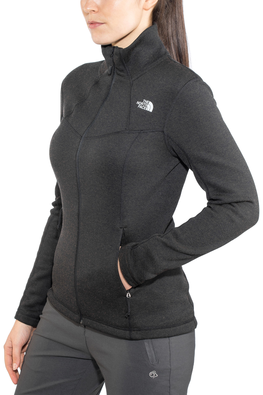 f4def5b16 The North Face Inlux Wool Full-Zip Jacket Women tnf black